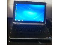 Dell latitude E6430 Intel i5 Quad 3320M CPU @2.60GHz 4GB Ram 320GB HDD. DVD Rewriter Webcam charger.