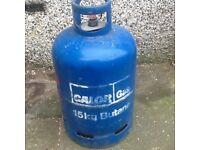 Calor 15kg butane gas bottle full