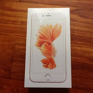 Brand New iPhone 6S 16Gb Rose Gold In Sealed Box Denistone East Ryde Area Preview