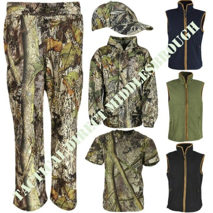KIDS HUNTING JACKET BOYS GIRLS SHOOTING COAT HEDGEROW CAMOUFLAGE CAMO SALE