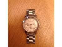 Michael Kors silver watch (used)