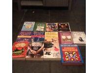 13 book bundle very good condition