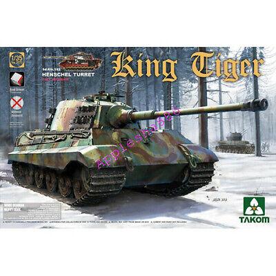 Takom 2073 1/35 WWII Sd.Kfz.182 King Tiger Henschel Turret  w/full interior