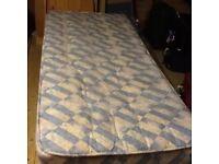 Single Bed And Matteress
