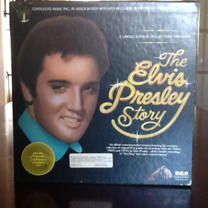 A limites édition collectors treasury  the ELvis Presley story