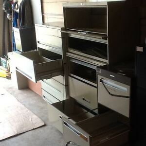 File cabinets for sale from 2 to 5 door Strathcona County Edmonton Area image 1