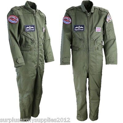 BOYS RAF FLIGHT SUIT RED ARROWS BRITISH ARMY PILOT COVERALLS FANCY DRESS COSTUME - British Army Costume