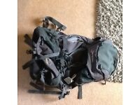 Berghaus travelling backpack