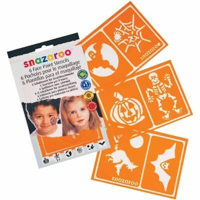 Snazaroo Halloween Stencils Face Pain Stencil Make Up (Snazaroo Halloween Makeup)