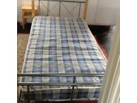 Single beds, very sturdy twin beds, suitable for adults and children.