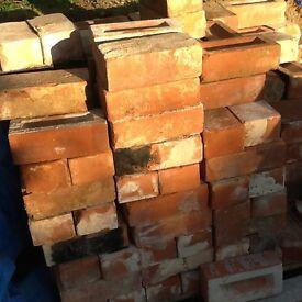 Reclaimed imperial bricks