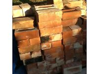 Reclaimed imperial bricks