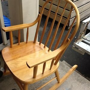Rocking chair $80