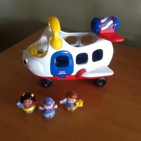 Fisher Price Little People Sounds Plane