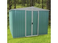 Metal Garden Shed/Outdoor storage house 10ft X 8ft