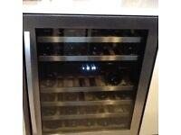 Wine Fridge / Cabinet : Caple Brand, Model No. WI 6127 : Holds 30+ Bottles