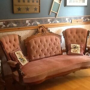 Antique John Jelliff Couch