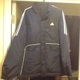 ADDIDAS MANAGERS JACKET AS NEW