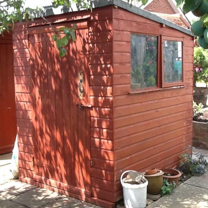 wooden garden shed decent condition 5 x 6 - Garden Sheds Yeovil