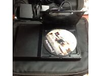 PlayStation 2 slim with games and accessories