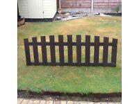 Garden picket fence