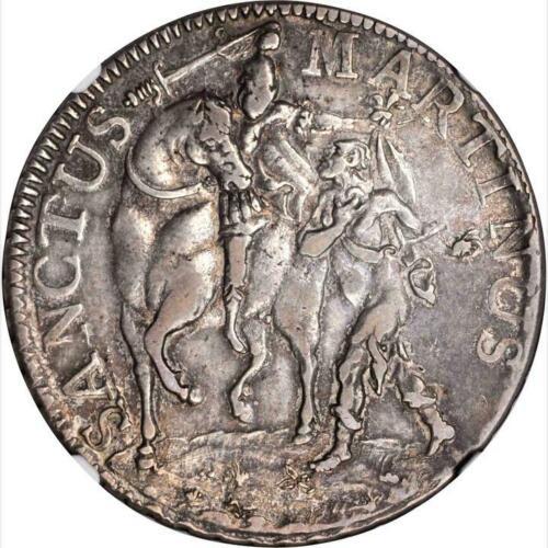 1754 Italian States, Lucca, Scudo, NGC VF 35, KM 66, Italy