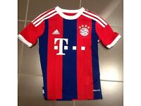 Bayern Munchen football top - UK 9-10 yrs
