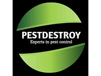 PESTDESTROY. EXPERTS IN PEST CONTROL. 24 HOUR CALL OUT. FAST RESPONSE. FANTASTIC RATES.