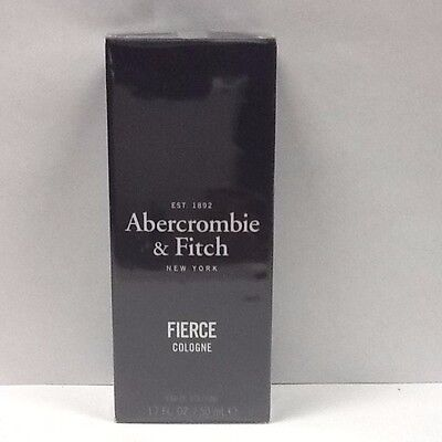 Abercrombie   Fitch Fierce Mens Cologne Spray 1 7 Oz   50 Ml  Authentic Sealed