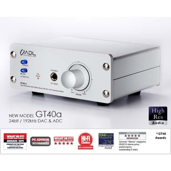 Details about ADL GT40A 24/192 USB DAC | MM+MC PHONO STAGE | HEAD AMP |  DIGITIZE YOUR VINYL