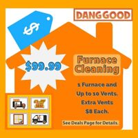 Furnace & Duct Cleaning by Dang Good. Taking Pride in Your Home.
