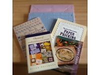 Card Making Books and Embossing Boards