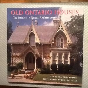 'OLD ONTARIO HOUSES' - Gorgeous Coffee Table Book - PERFECT!