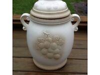 Preserving jar. Rumtopf