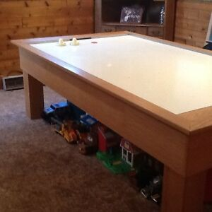 OAK AIR HOCKEY TABLE