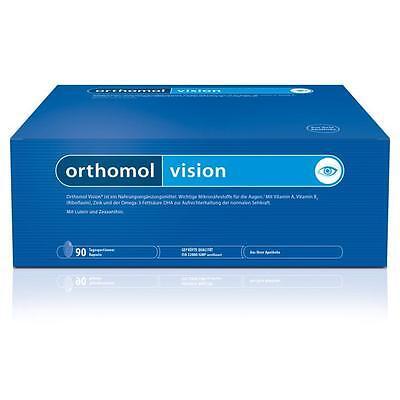 ORTHOMOL Vision Kapseln 90x3 Stück Nährstoffe für die Augen PZN 07142430