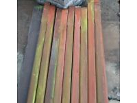 Used decking posts