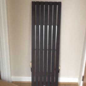 Black flat panel radiator - Reduced !!