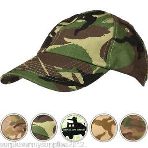 MENS-CAP-BRITISH-ARMY-RIPSTOP-HAT-MTP-BTP-DESERT-BASEBALL-FISHING-HIKING-CADET