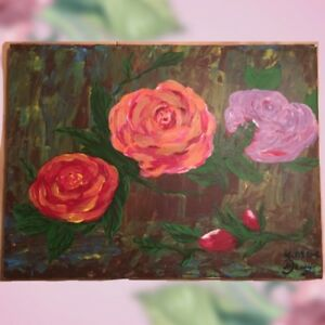 Acrylic painting for sale. Canvas.