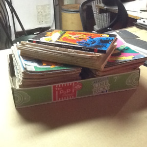 Comics, box of over 110 comics