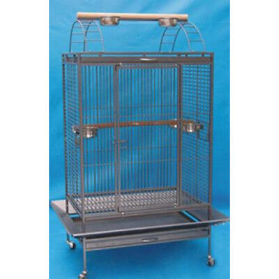 "X Large Lani Kai Lodge Open Play Top Parrot Bird Cage 36""W x 26""D X 68""H 555"