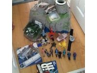 THUNDERBIRDS ARE GO (whole set) Interactive Island, Characters & Vehicles (unwanted gift)