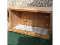 Double breeding cage
