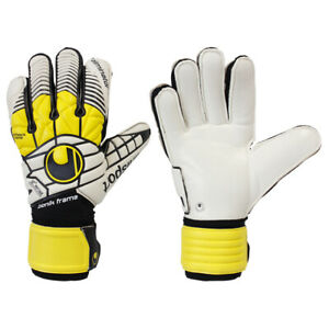 Uhlsport Eliminator Bionik Soccer Goalkeeper Gloves 9.5 fingersa