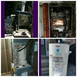 Furnace / Ac / Hot water Tank / Venting / Boilers