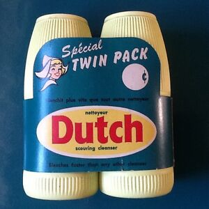 1960's memorabilia  Twin pack Dutch cleanser London Ontario image 1