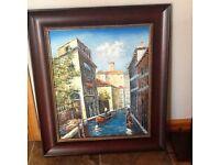 Lovely framed painting