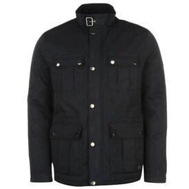 Firetrap 4 Pocket Jacket Mens NEW