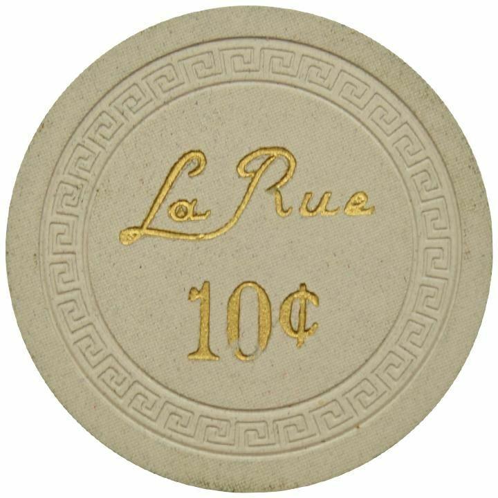 La Rue Casino Las Vegas NV 10 Cent Chip 1950